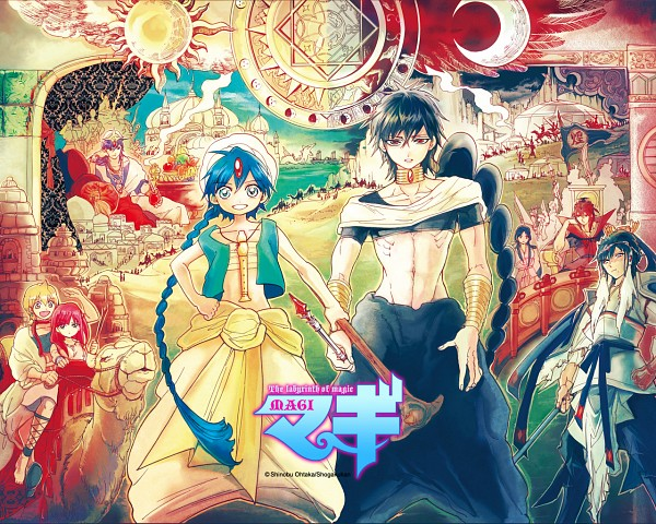 Top 10 ventes des manga au japon Debut 2013 727420MAGITheLabyrinthofMagic6001558991