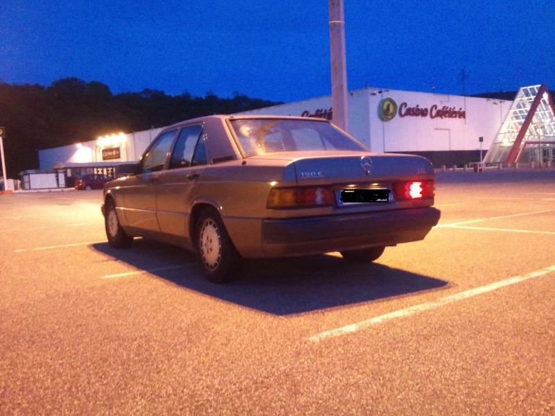 Mercedes 190 1.8 BVA, mon nouveau dailly - Page 9 727537DSC2304