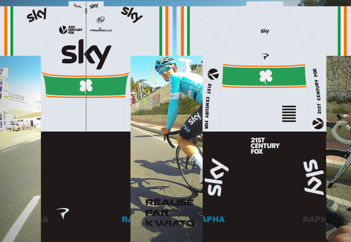 SKY Pro Cycling 727595skymaillotirl