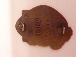insigne du 5ème RI 729323verso5RI