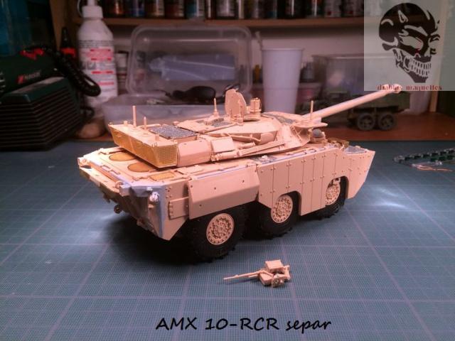 AMX 10 RCR SEPAR maquette Tiger Model 1/35 730232IMG3796