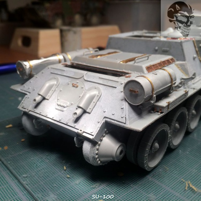 SU-100 marque Dragon 1/35 730354IMG3886