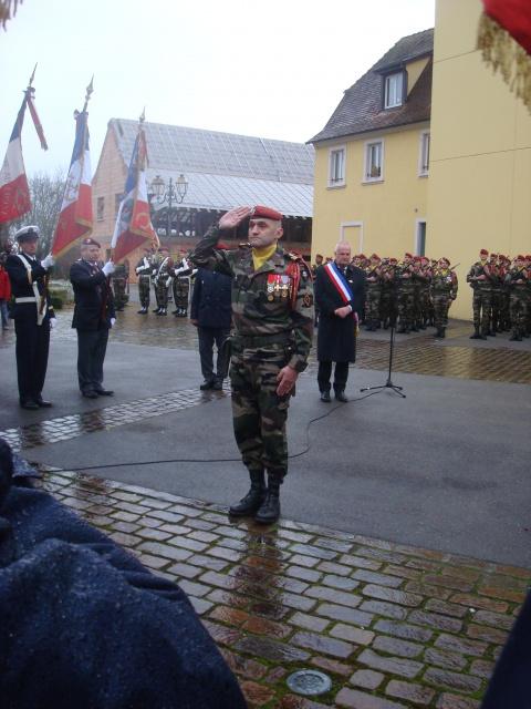 Jebsheim : 60 parachustistes du 1er RCP commémorent la libération de la Poche de Colmar 730437067