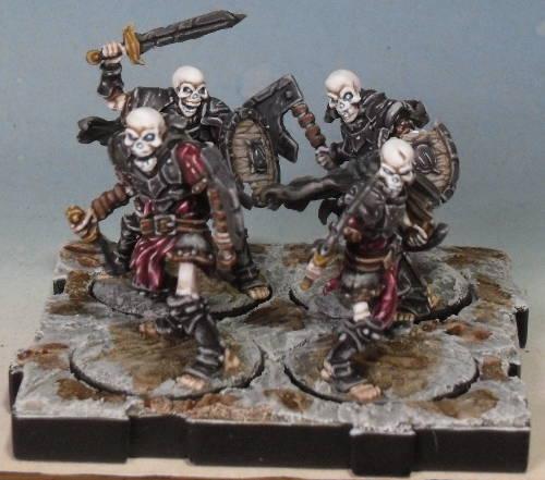 Peinture de mon armée de Mort-Vivants 730670Srie5socle