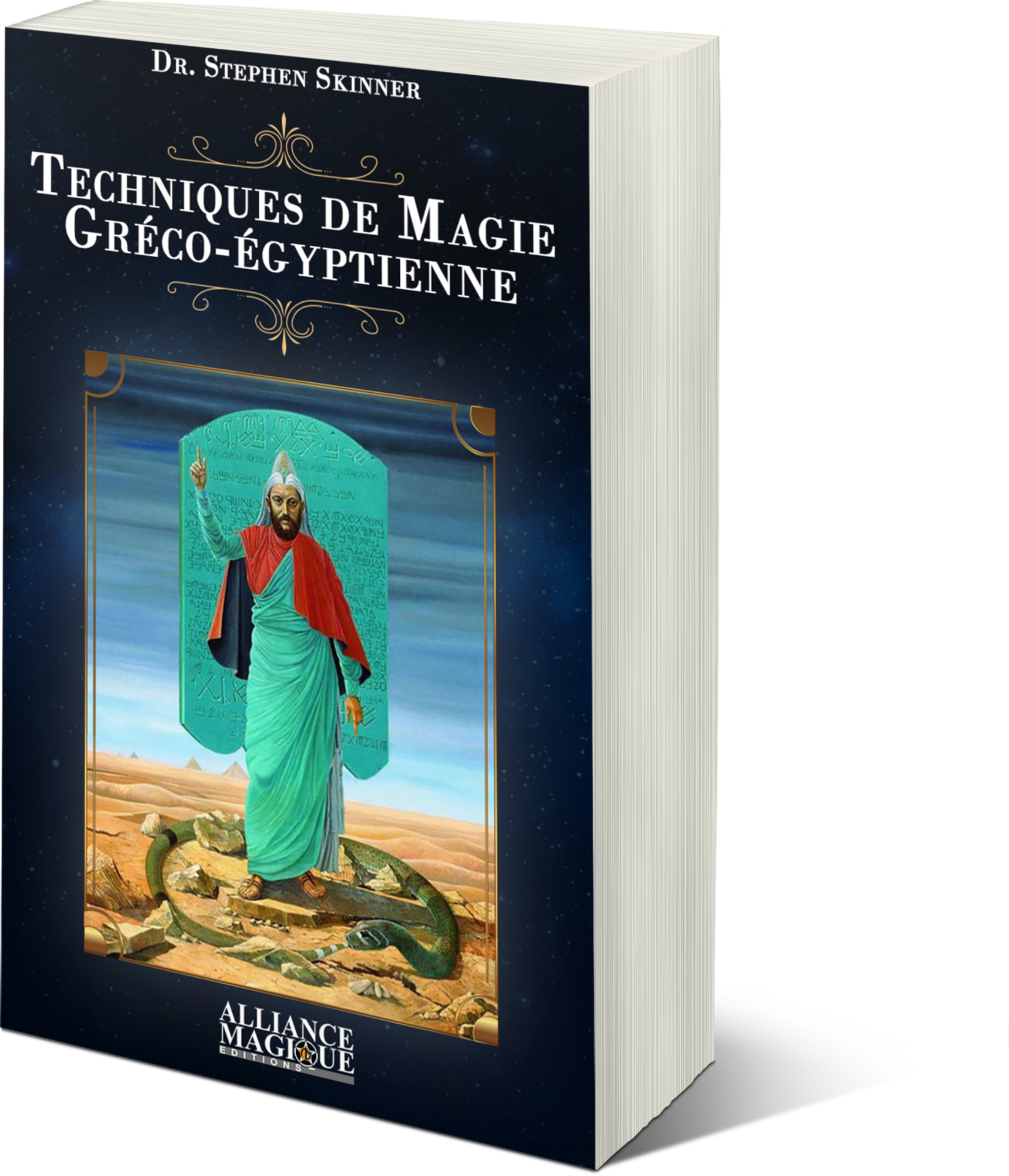 Techniques de Magie Greco-Égyptienne, Dr Stephen Skinner 731102couvtechniques