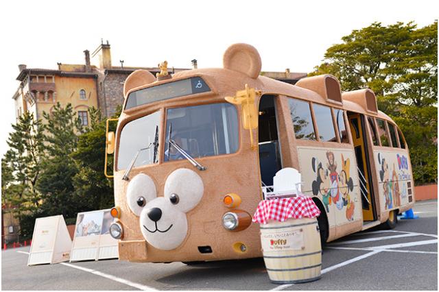 [Tokyo Disneyland] Nouvelle parade : Hippiti-Hoppiti Spring Time (du 2 avril au 23 juin 2014) 732247duffybus1