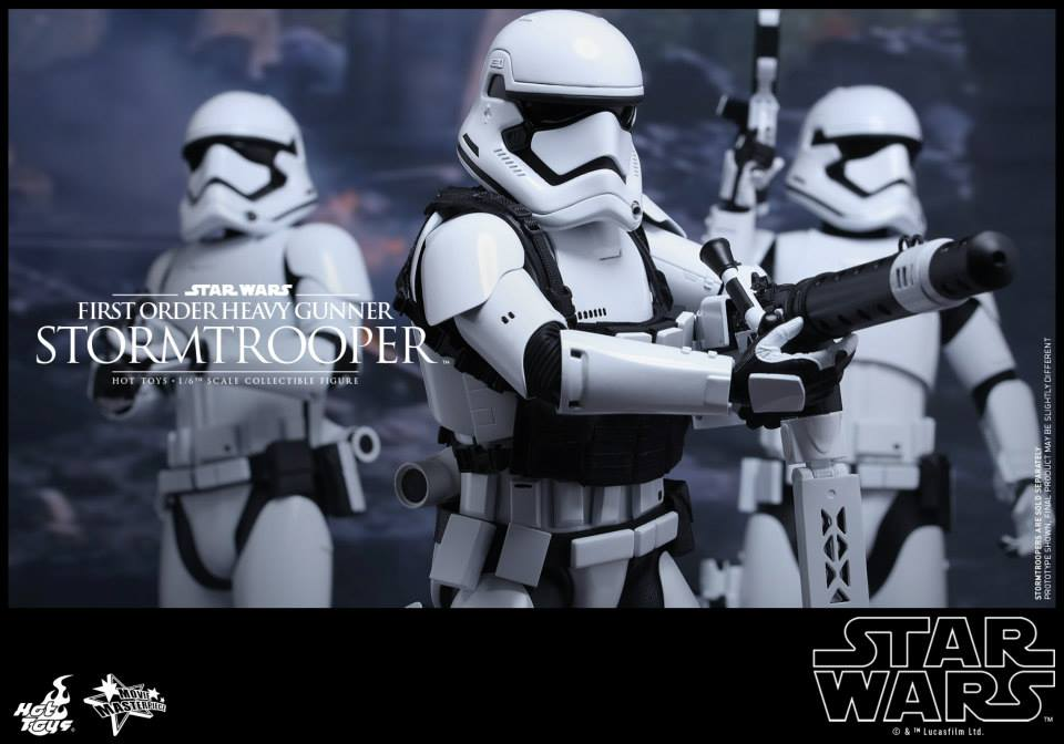 HOT TOYS - SW7: TFA - First Order Heavy Gunner Stormtrooper 733076104
