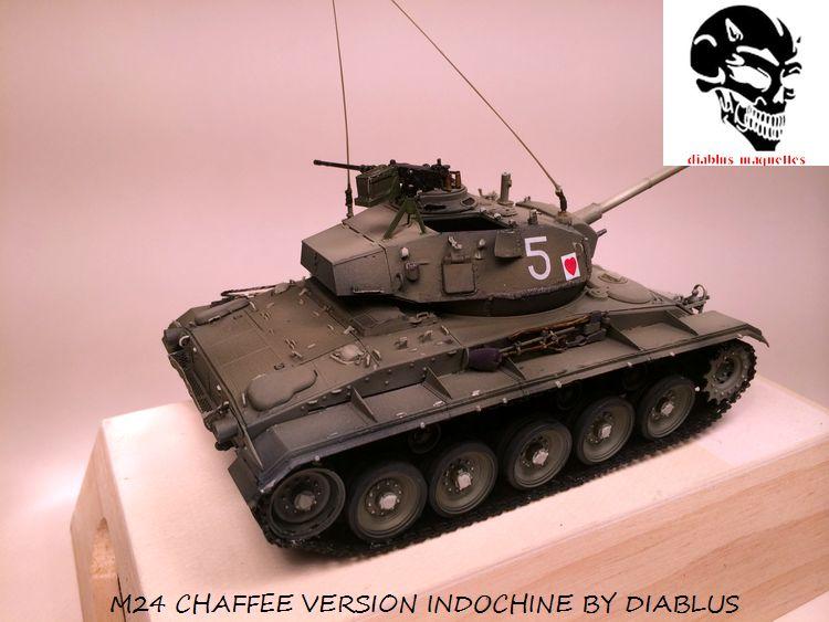 M24 Chaffee light tank, AFV Club 1/35 733953IMG35951