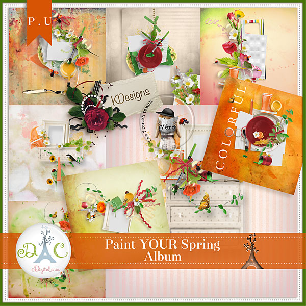 Véro - MAJ 02/03/17 - Spring has sprung ...  - $1 per pack  - Page 5 734465Previewalbumpaintyourspringcollab