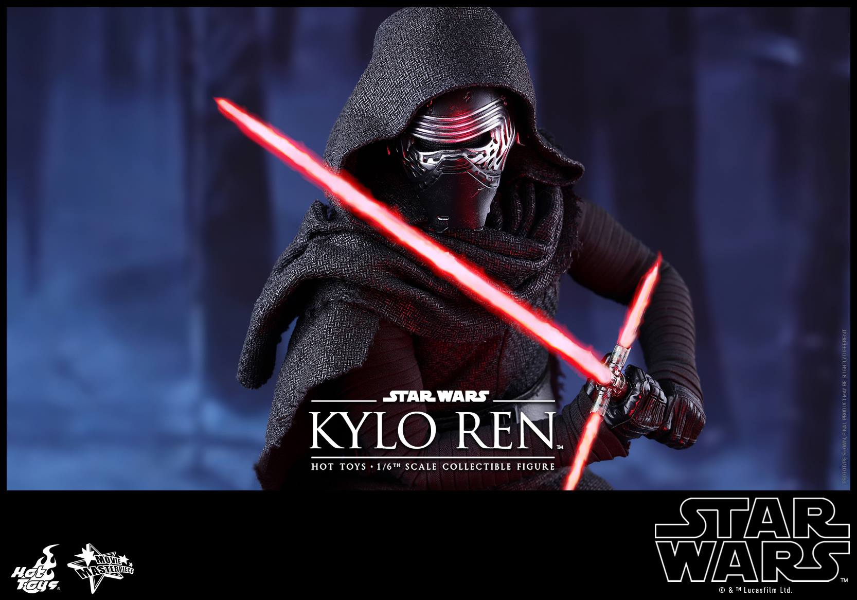 HOT TOYS - Star Wars: TFA - Kylo Ren 735081112