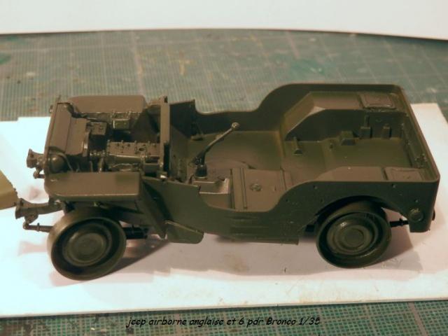 6 pdr ,jeep ,équipage airborne Bronco 1/35 (sur la route de Ouistreham) 735416P5020104