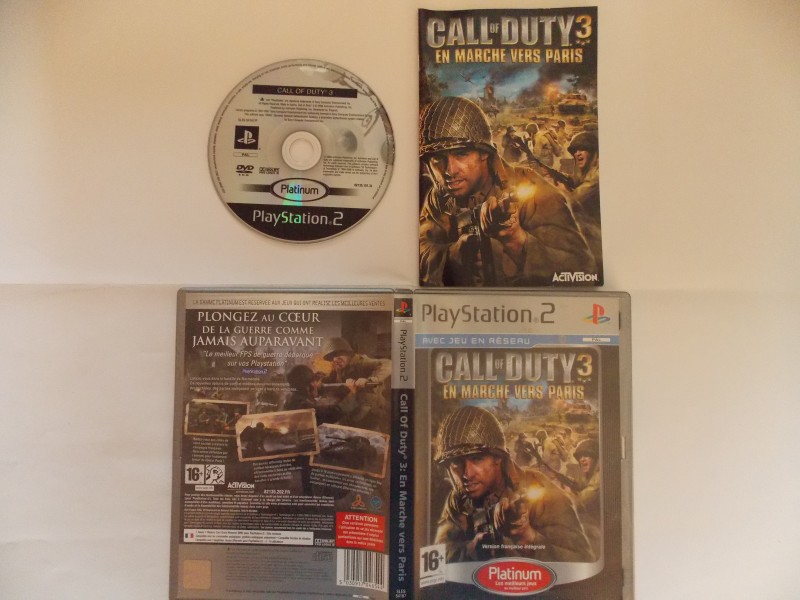 Call of Duty 3 : En route vers Paris 735702Playstation2CallofDuty3enrouteversParisplat