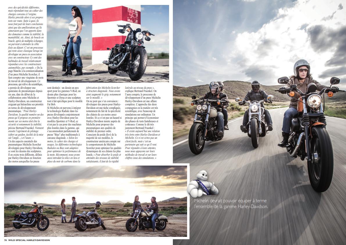 Le partenariat Michelin avec Harley-Davidson 736521Michelin004