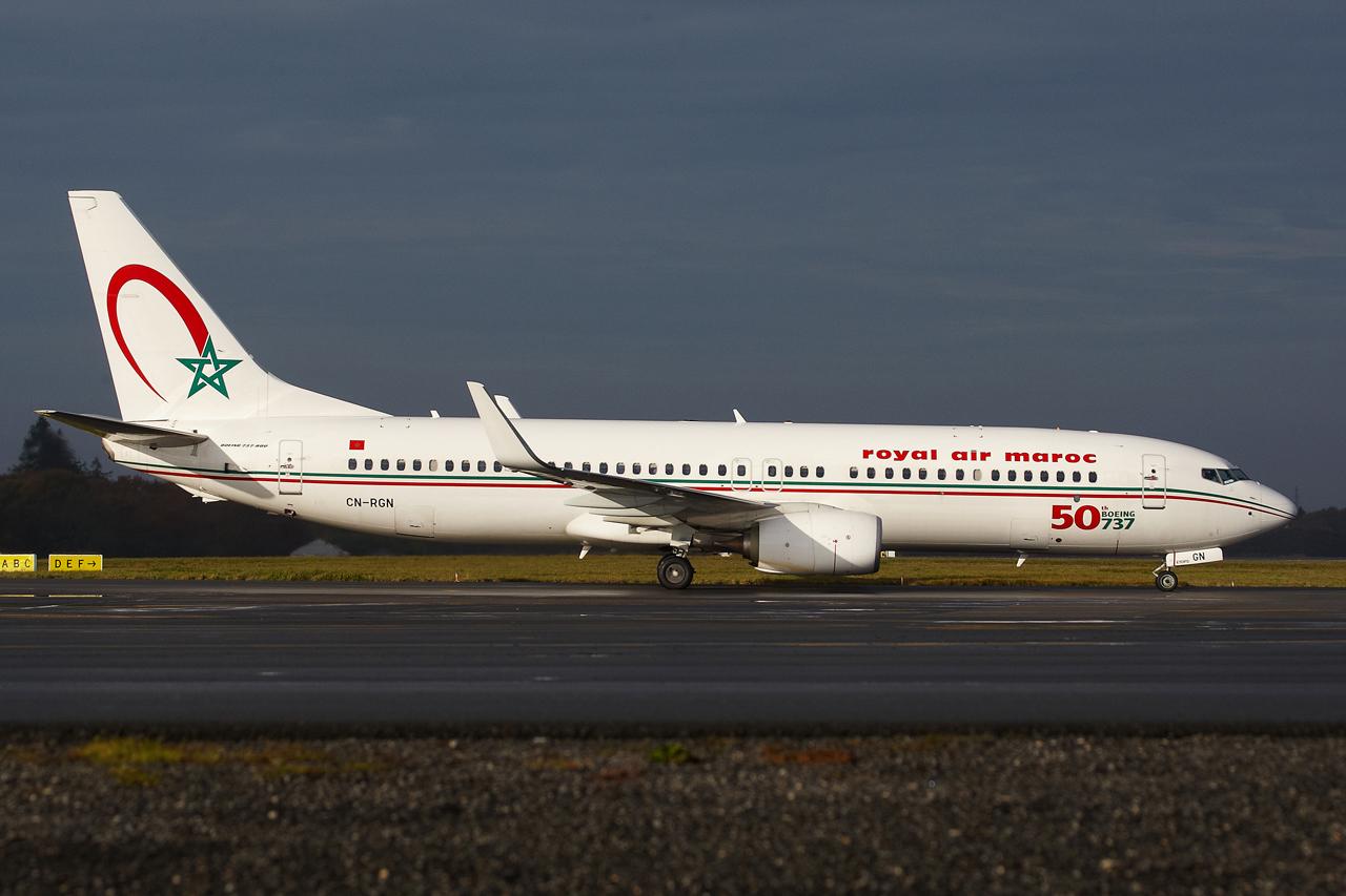 [ 18/05/2013 ] B737-8B6 Royal Air Maroc (CN-RGN) 50 th boeing 737 736862GRX9071