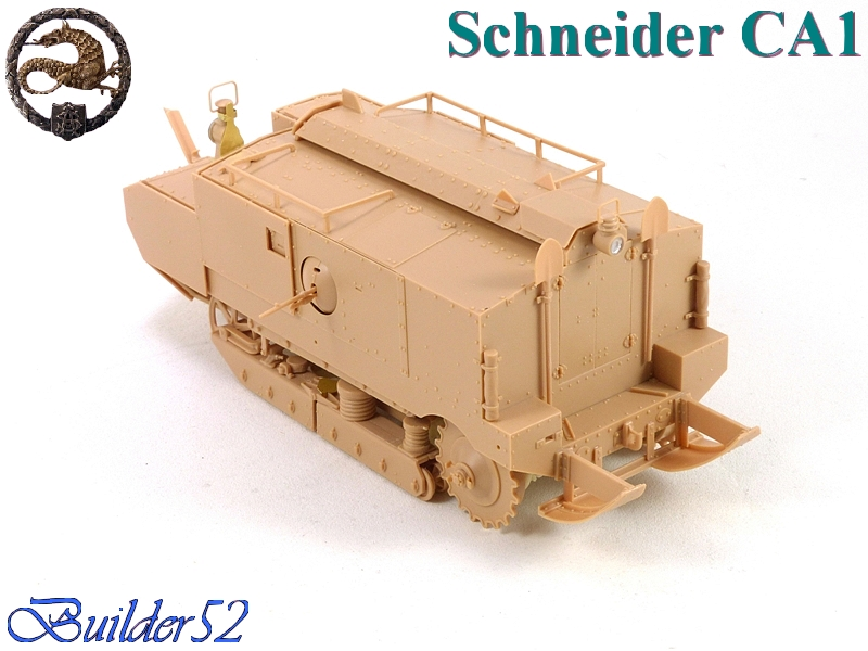 CHAR SCHNEIDER CA 1 - HOBBY BOSS 1/35 736903P1040927