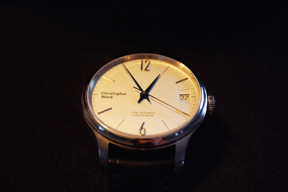 ward - Enjoy your new Christopher Ward C1 Grand Malvern 5 Day Automatic 738583box