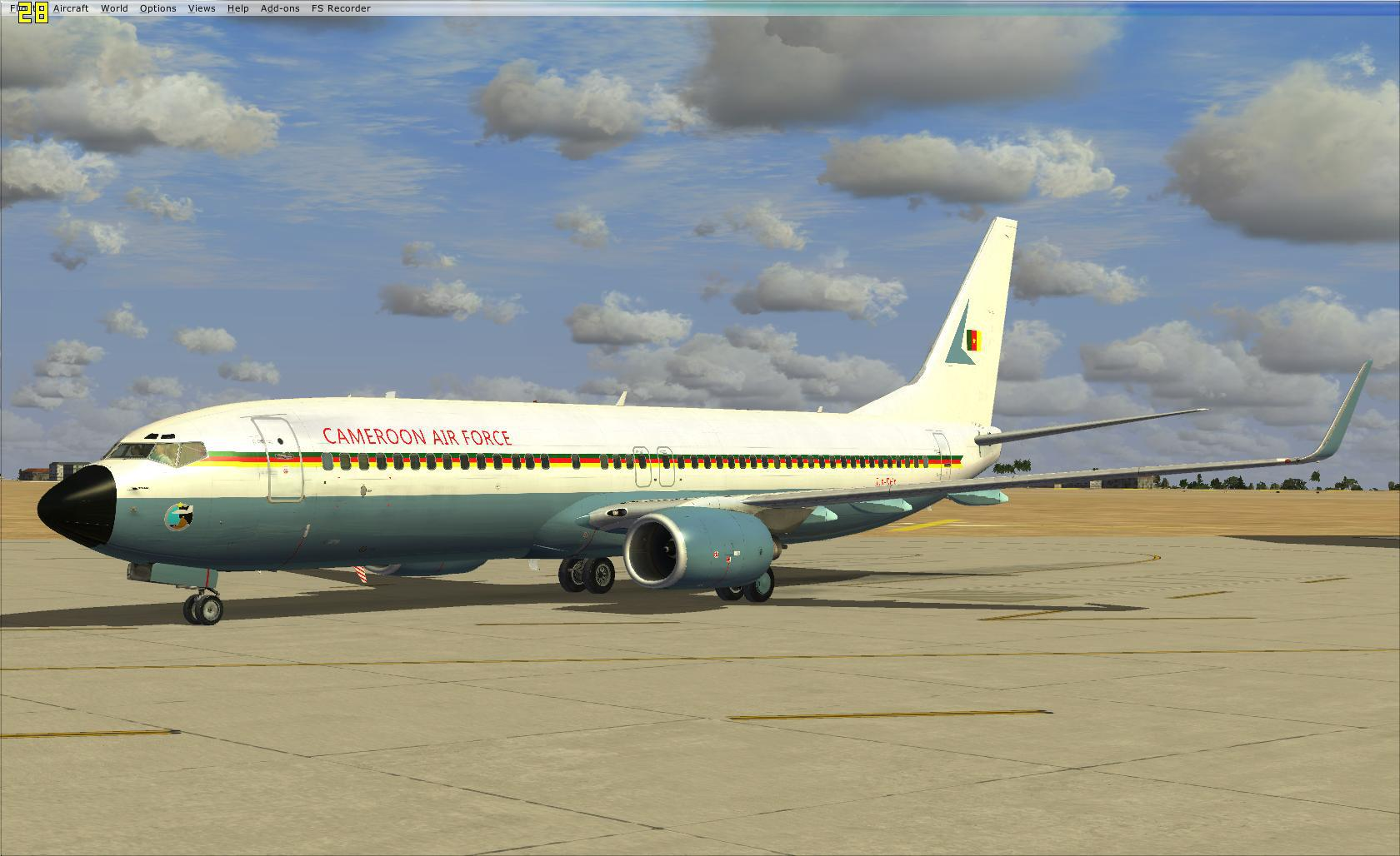 738 ngx cameroon air force 738848fsx2013071309410808