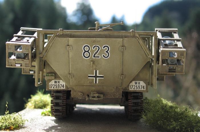 "sd kfz 251 ""stuka zu fuss"" Tamiya 1/35 741432modles128015"