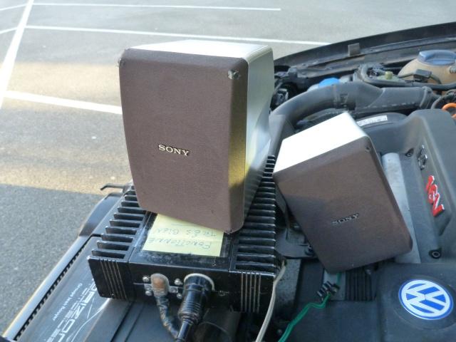 VW T3 Westfalia: double système Pioneer: ODR et Component 741543P1240840