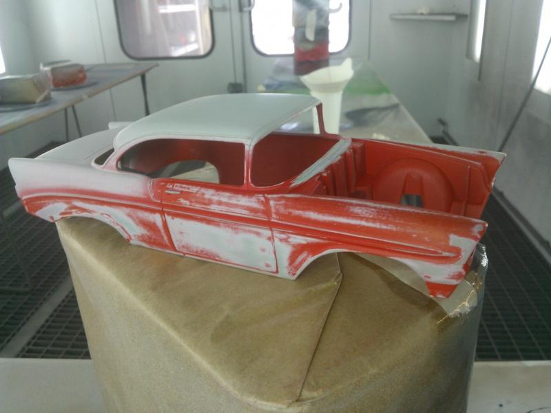 #47 : Chevy bel air 56 custom (TERMINEE) 741801WP001621