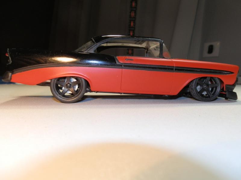 #47 : Chevy bel air 56 custom (TERMINEE) 742041P9305427