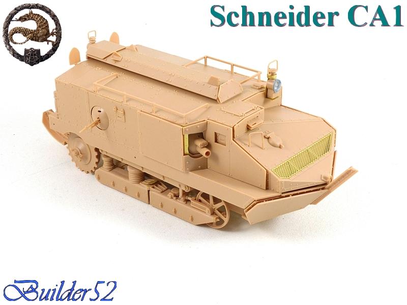 CHAR SCHNEIDER CA 1 - HOBBY BOSS 1/35 742429P1040925