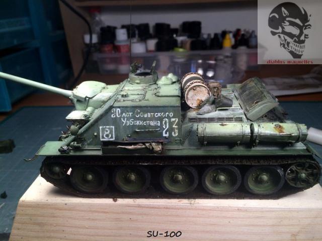 SU-100 marque Dragon 1/35 - Page 2 743388IMG3908