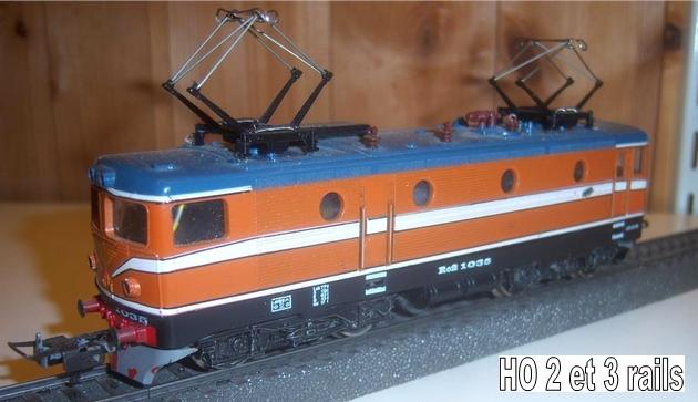 Machines RC des chemins de fer suédois 743733LimaRC1036orange