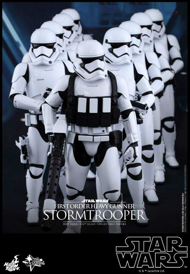HOT TOYS - SW7: TFA - First Order Heavy Gunner Stormtrooper 744144106