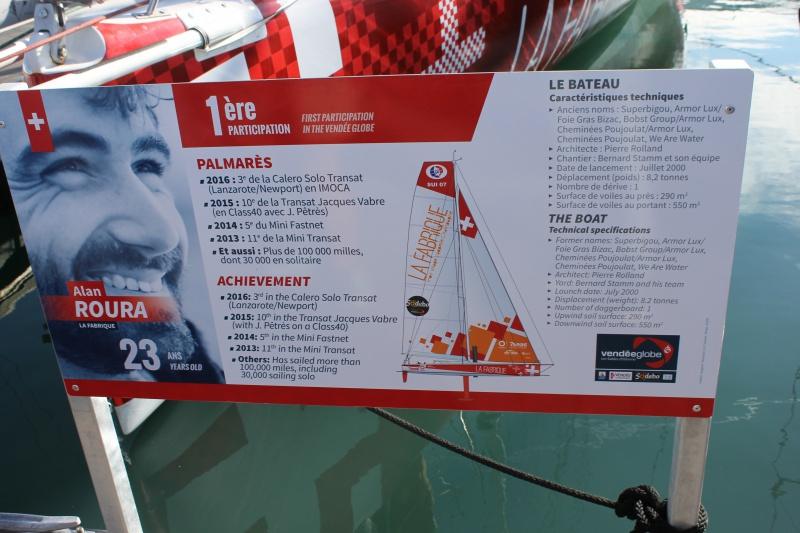 Visite du village et du ponton du Vendée Globe le 25/10/16 744694IMG4568