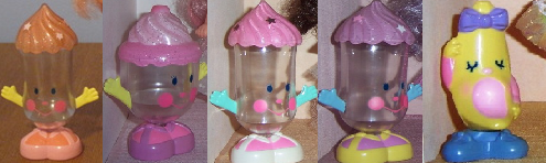 [WISHLIST DOLLYLY] Cupcakes-Mini Lalaloopsy-Cherry Merry Muffin-Polly Pocket-MLP 744989compagnons