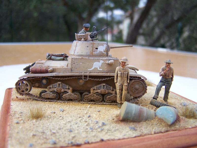 Char moyen M13/40 Tobrouk 1941 7451811005591