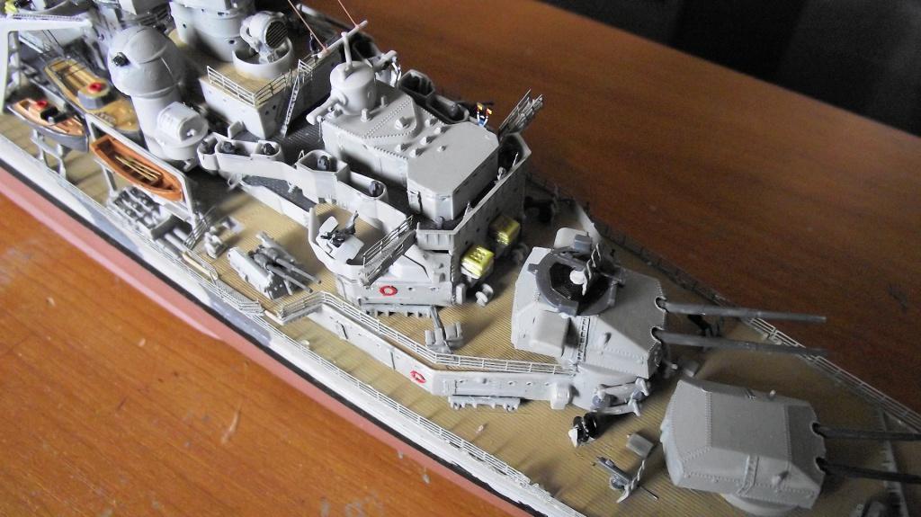 Prinz Eugen Trumpeter au 1x350 avec PE 745196PrinzEugen1x35059