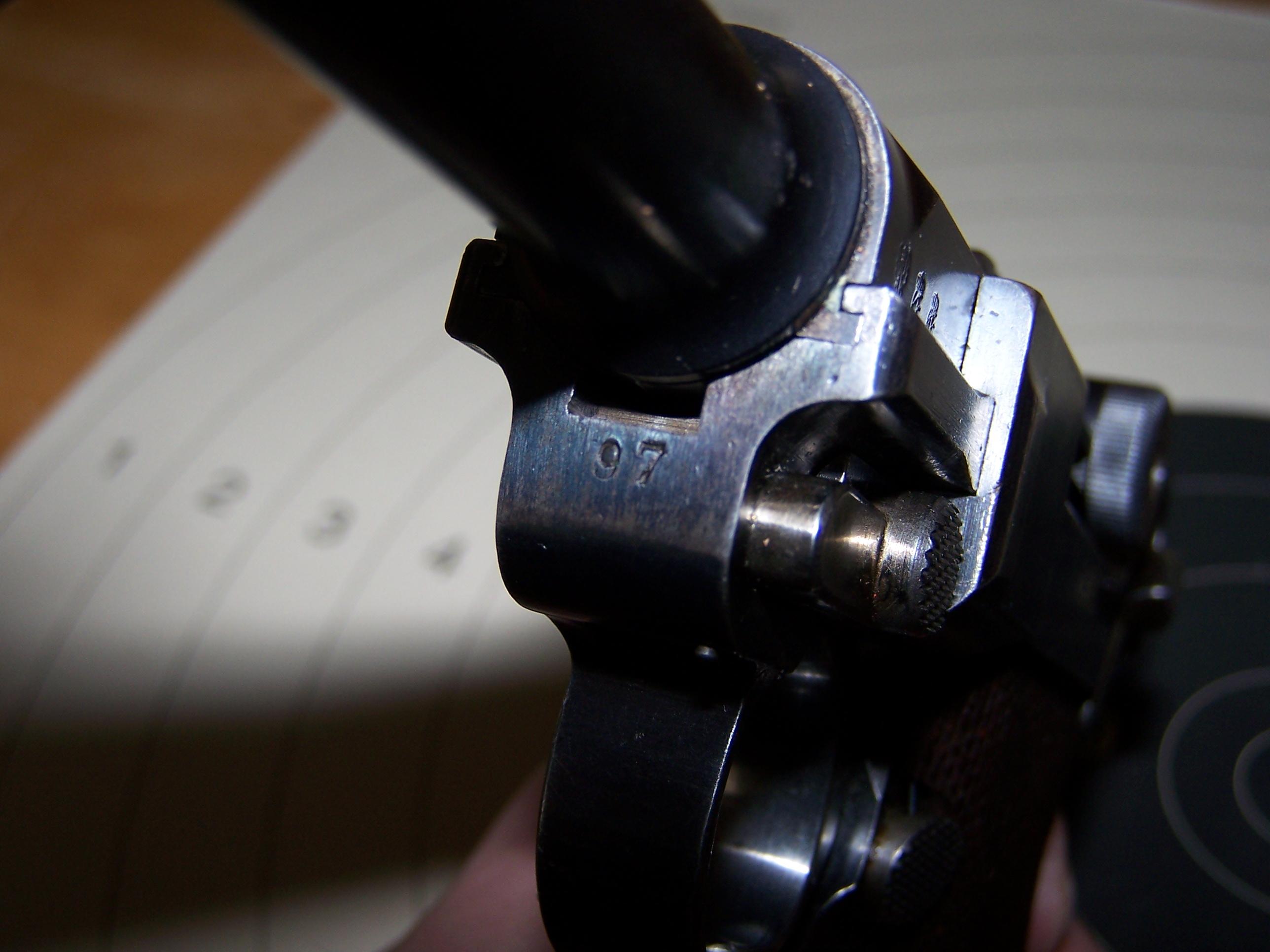 Mon Luger P08 de 1909 7452001004015
