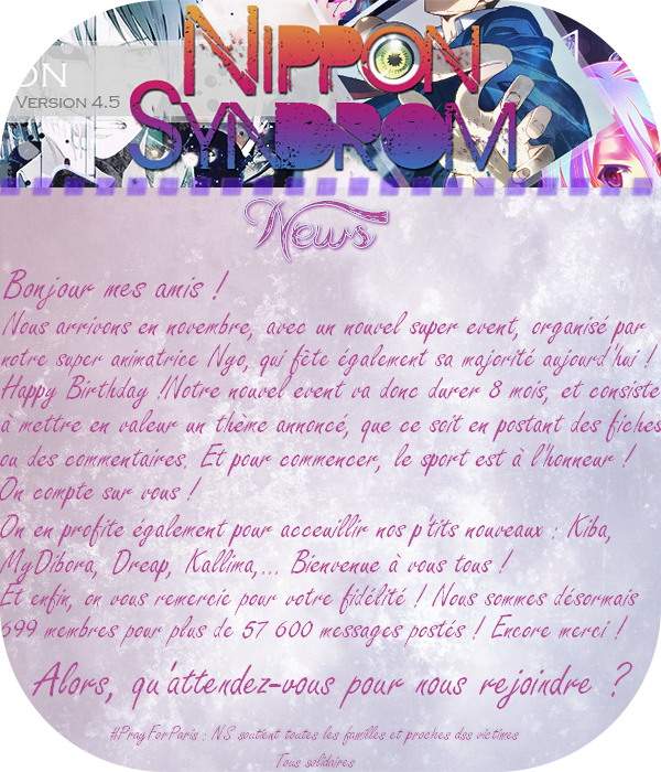 Nippon Syndrom, version 4.5 ! 745335newsnovembre