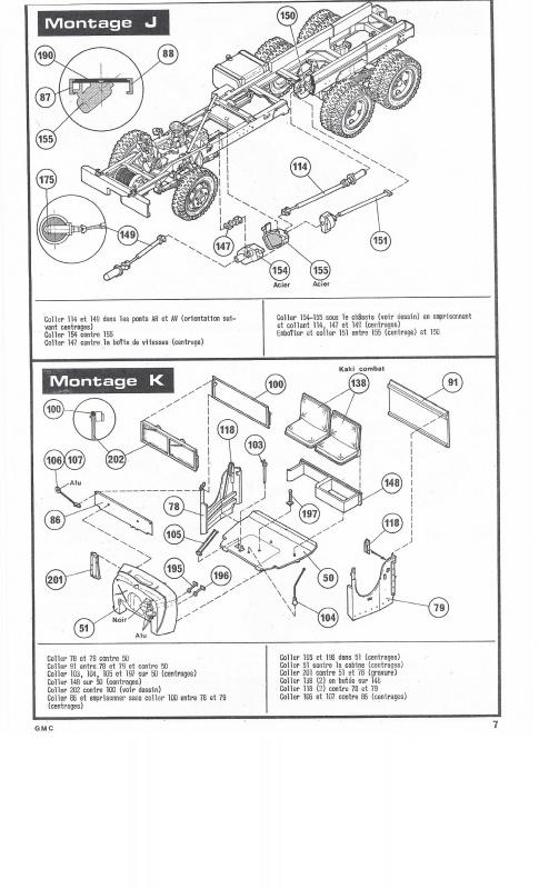 GMC . CCKW 353 (Réf. L809) 1/35 745921GMC007