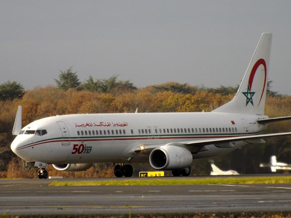 [ 18/05/2013 ] B737-8B6 Royal Air Maroc (CN-RGN) 50 th boeing 737 746165Decembren5008
