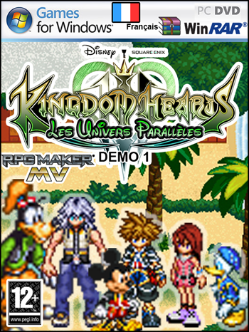 Kingdom Hearts Rpg Maker MV Android DEMO disponible téléchargeable 746836Jacquettepetite