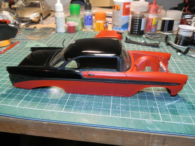 #47 : Chevy bel air 56 custom (TERMINEE) 747003P9295369