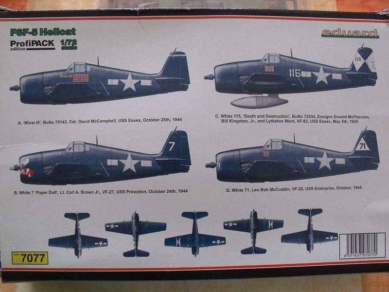 Grumman F6F-5 Hellcat - Eduard - 1/72 747296GrummanF6FHellcat006