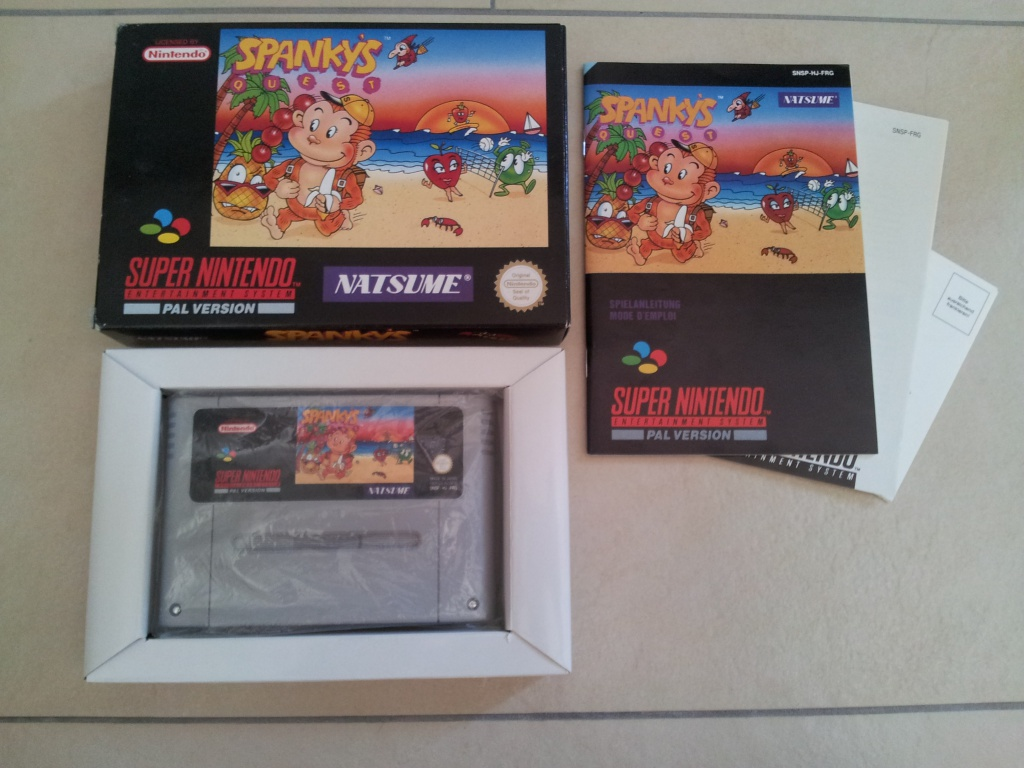 Prupru's Collection ! 100% Super Nintendo et 200% Super Comboy !! - Page 5 748840SpankysQuest