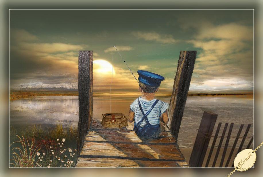 Coucher de soleil(Psp/Coups de pinceaux) 749453marieclo1