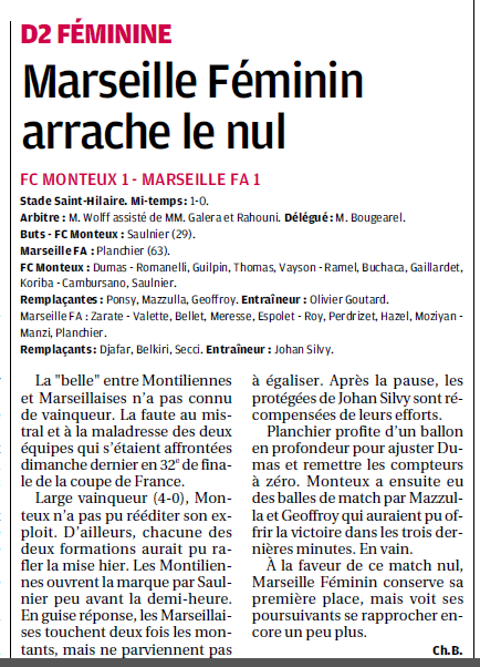 Football Club Féminin Monteux Vaucluse et Monteux foot seniors et jeunes  - Page 2 749753Copiede17