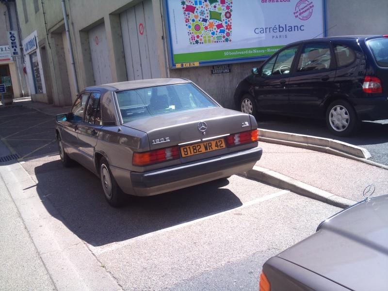 Mercedes 190 1.8 BVA, mon nouveau dailly - Page 9 751077DSC2325