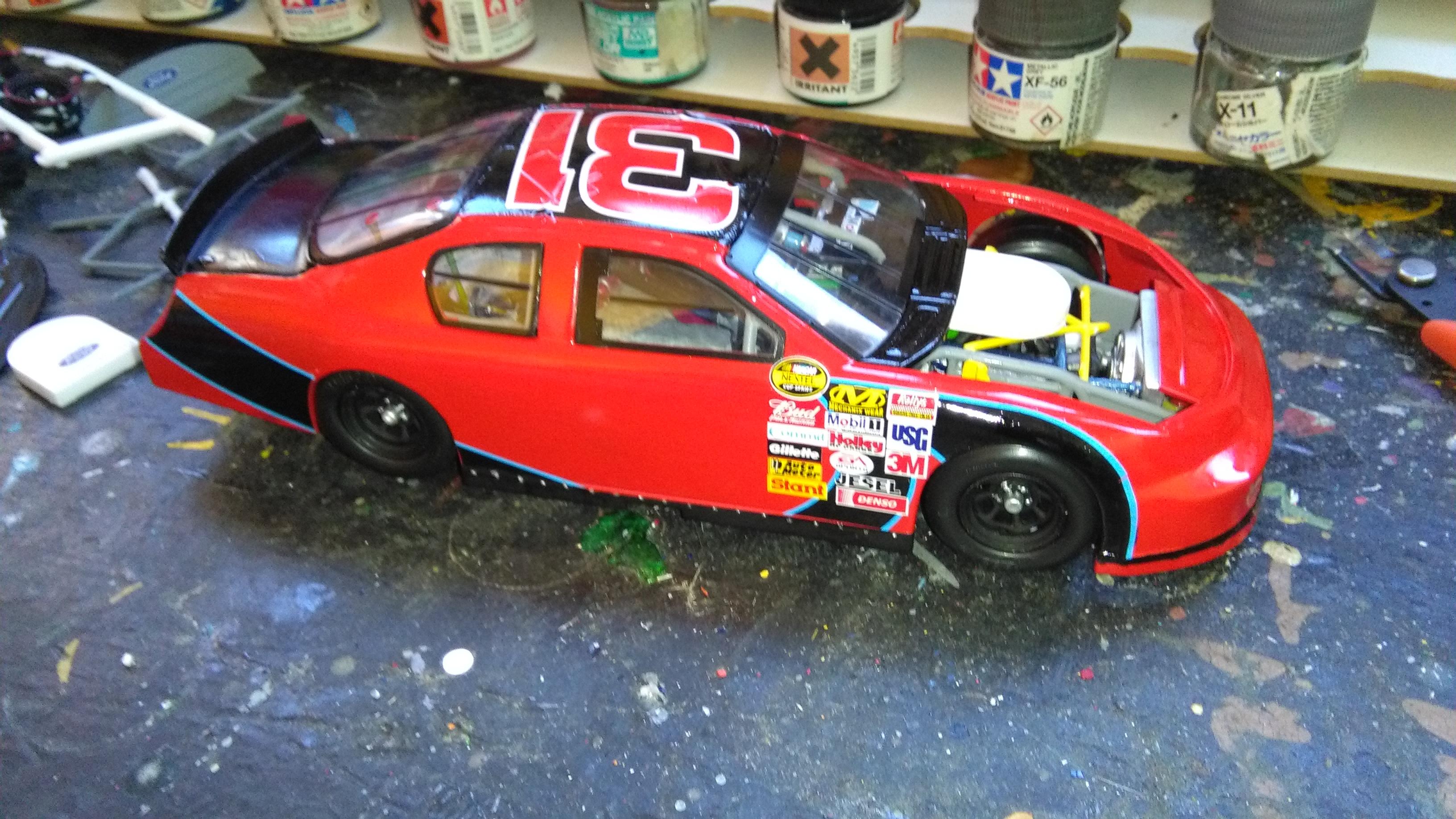 Chevy Impala 2006 #31 Jeff Burton Cingular 751272IMG20170418182838
