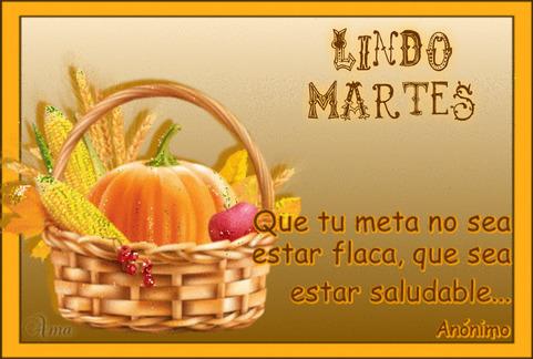 Canasta Saludable con Frase 751646MARTES