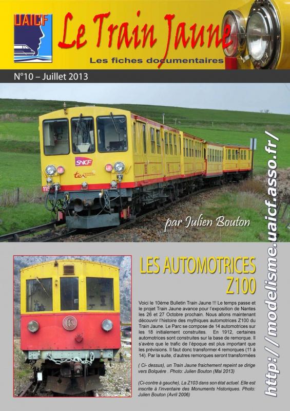 Fiches documentaires UAICF sur motrice train jaune 752031tj10Page1