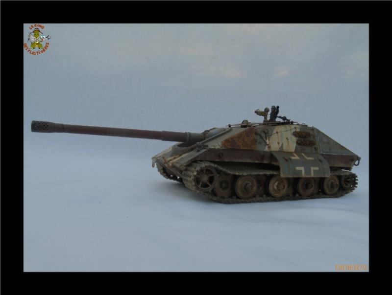 E-100 Jagdpanzer Krocodil 1/35 trumpeter 752158Sanstitre23GF