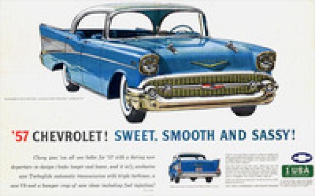 chevrolet bel air hardtop 1957 de chez amt au 1/16 7530401957ChevroletAd02thumb
