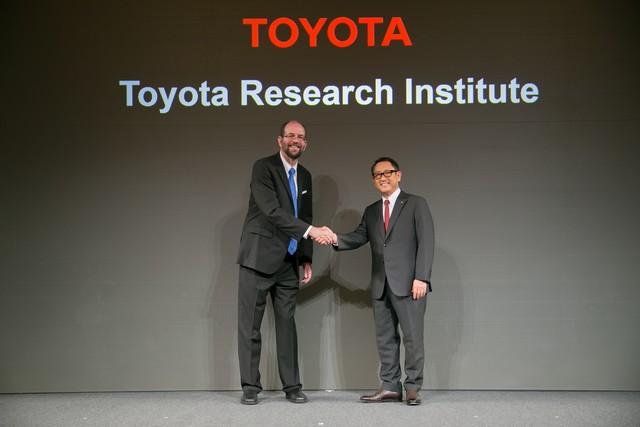 Toyota va créer un institut de recherche et développement dédié à l'intelligence artificielle 753538201511060119